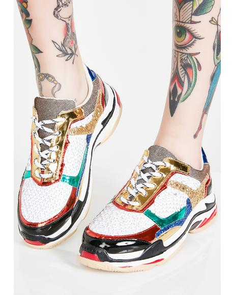 Twinkle N' Shine Sequin Sneakers