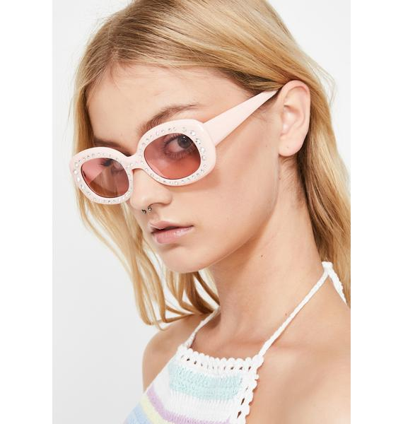 Princess Bling Rhinestone Sunglasses