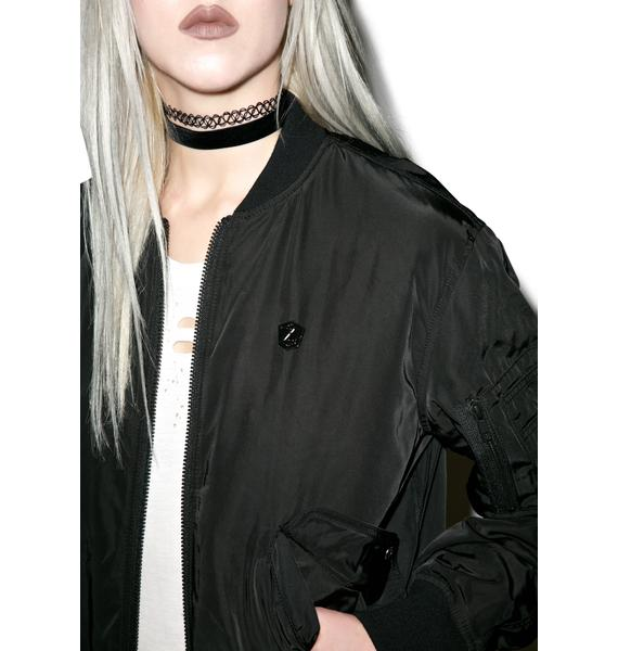 Long Clothing X Grace Neutral MA-1 Jacket