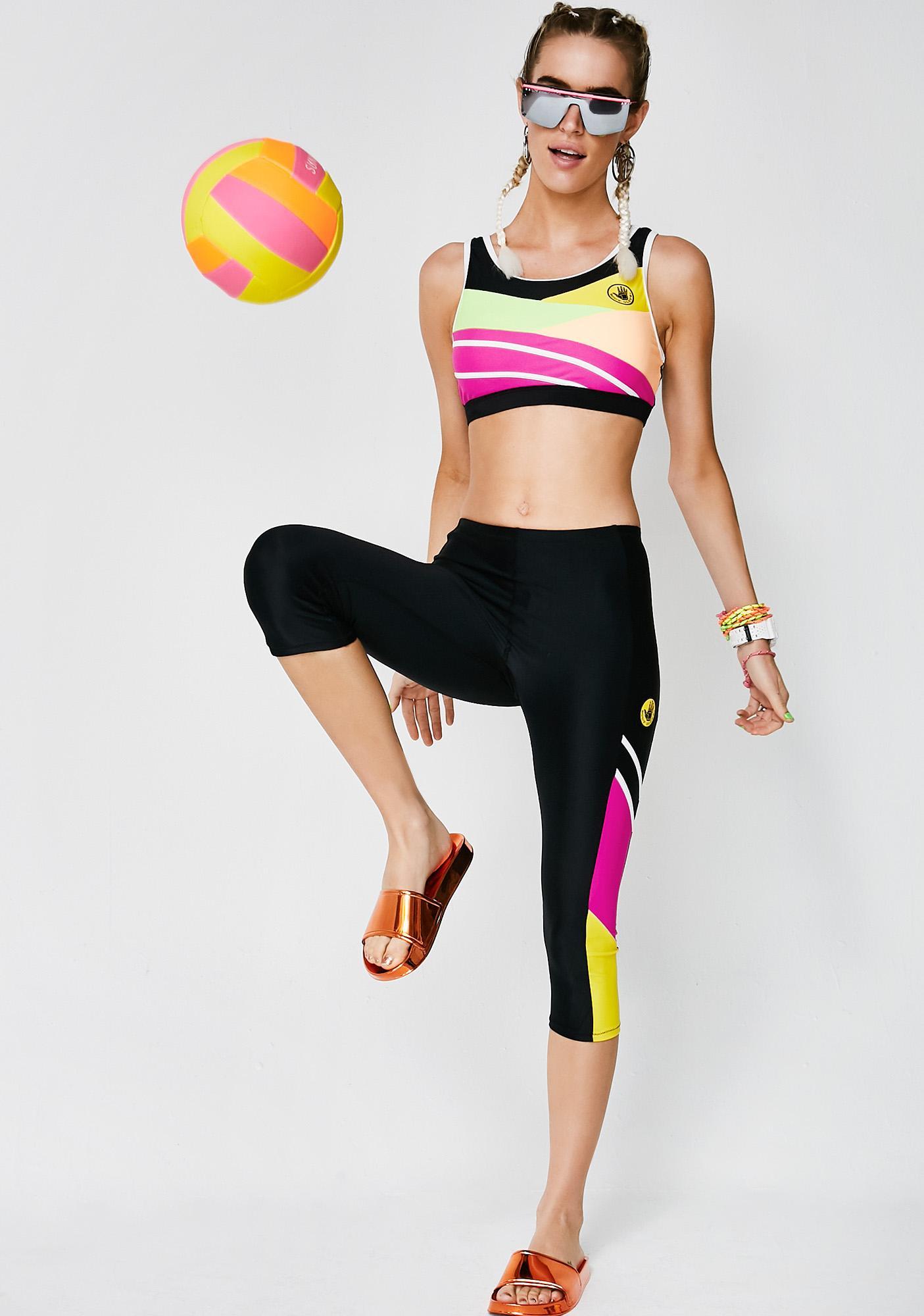 Body Glove Loco Motion Capri Leggings