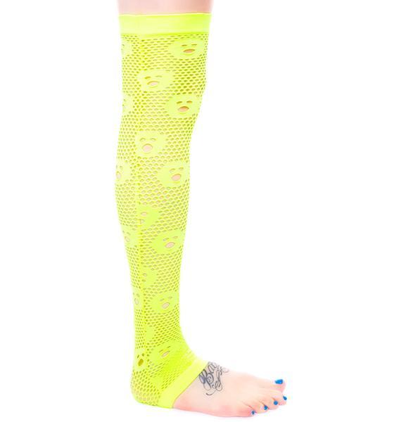 J Valentine OMG Net Leggings