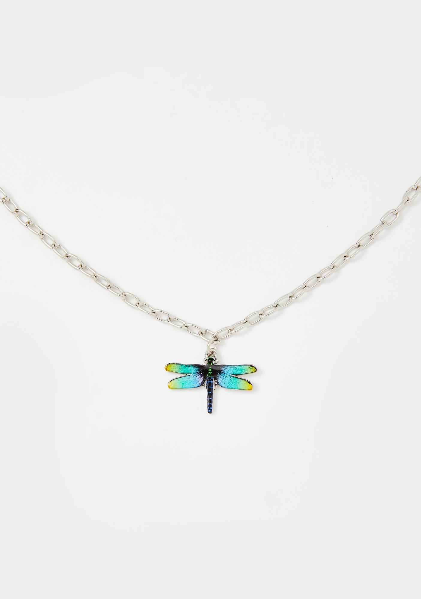 Fly With Me Chain Necklace