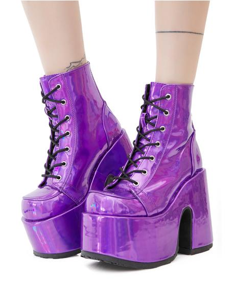Rave Royalty Platform Boots