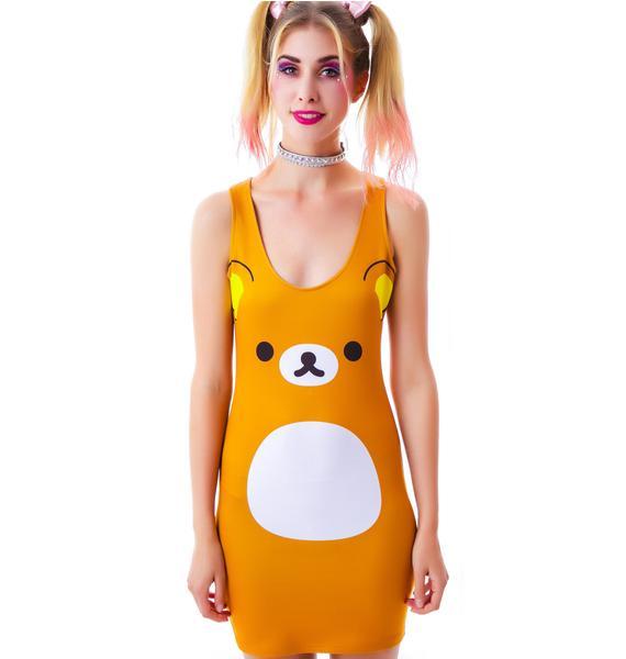 Japan L.A. Rilakkuma Bodycon Dress