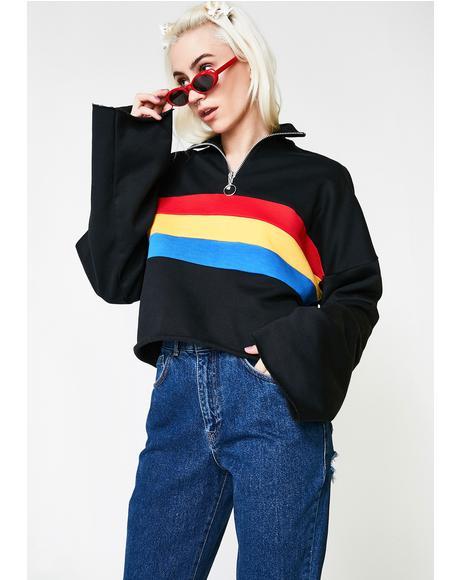 Faster Zipper Sweater