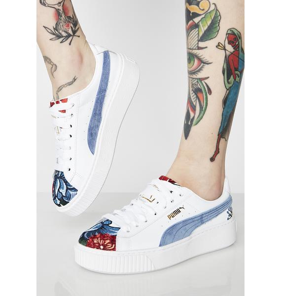 PUMA Platform Hyper Sneakers