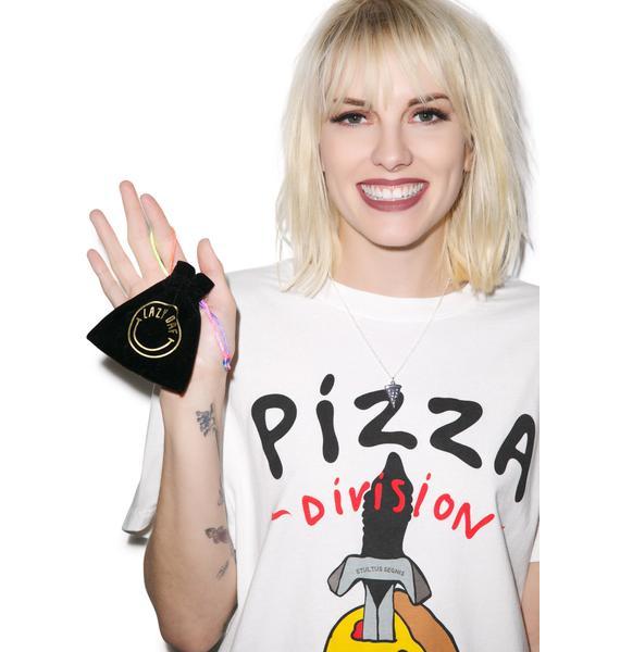 Lazy Oaf Pizza Necklace