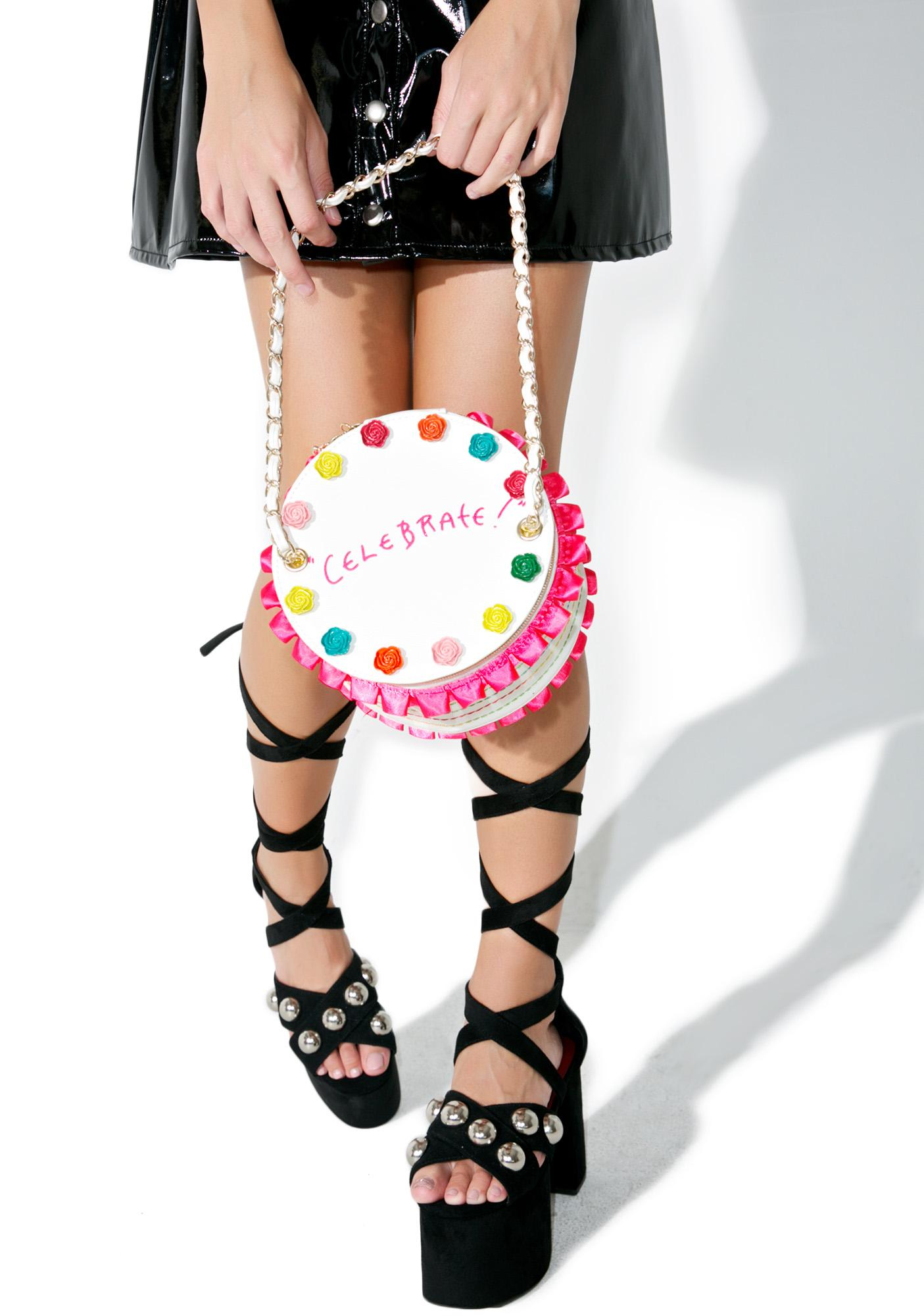 Betsey Johnson Slice Of Life Bag