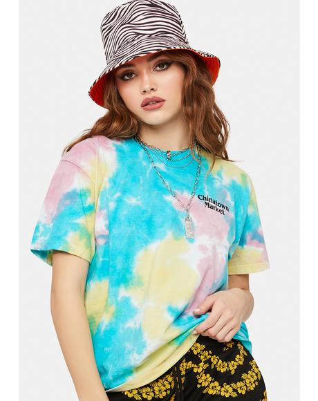 Lawyer Tie Dye Graphic Tee