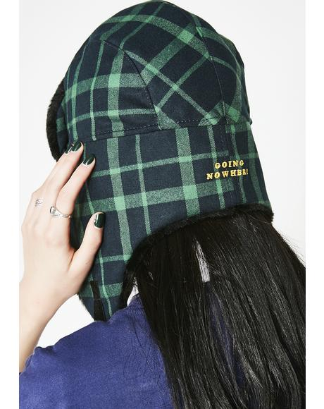 Going Nowhere Trapper Hat