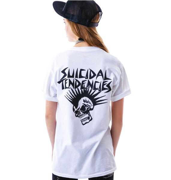 Suicidal Tendencies Mohawk Skull Tee