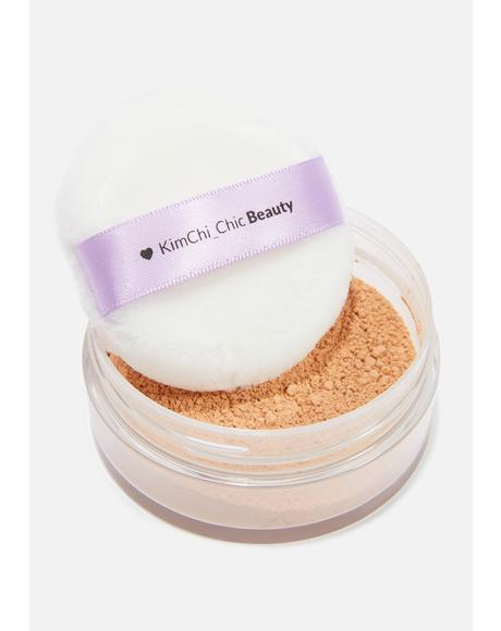 Puff Puff Pass Setting Powder in Suntan