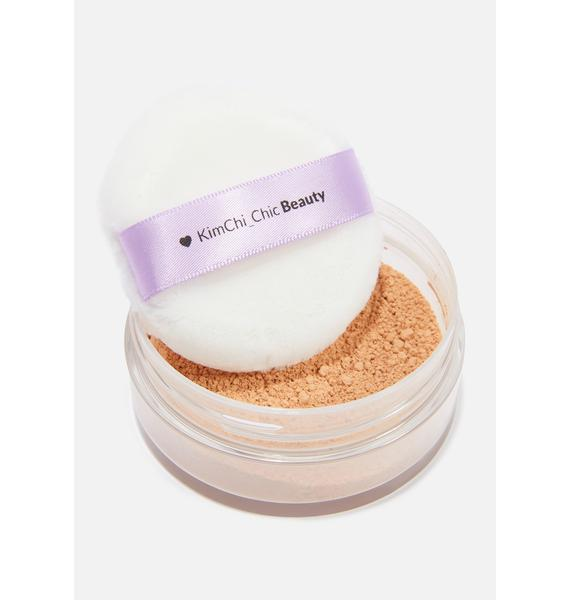 KimChi Chic Beauty Puff Puff Pass Setting Powder in Suntan