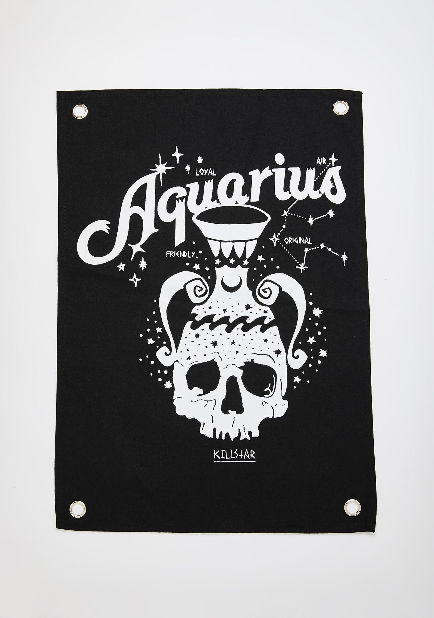 Killstar Aquarius Mini Tapestry