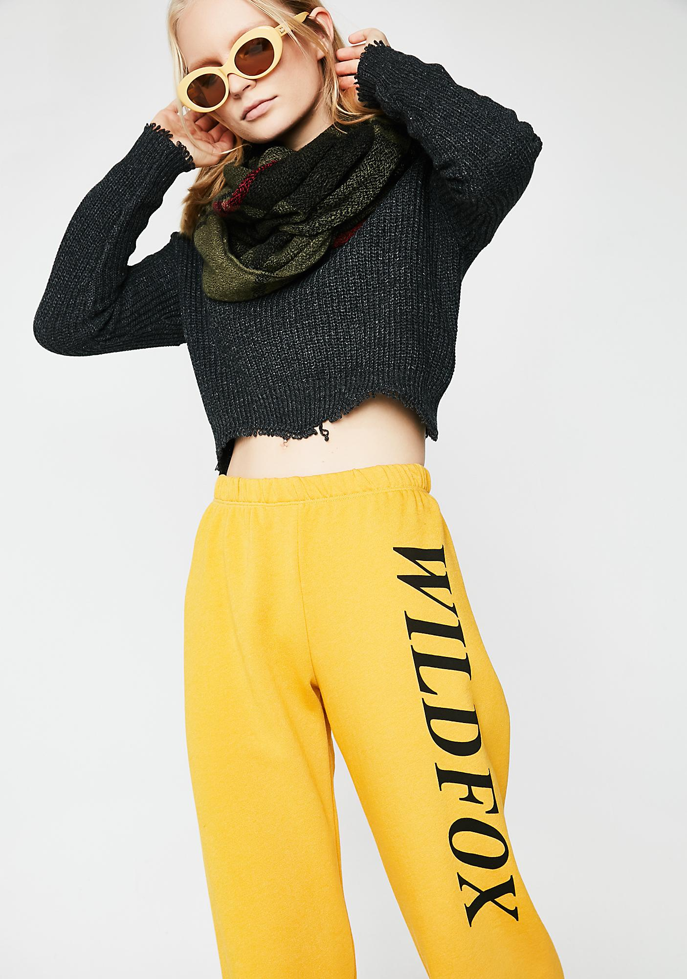 Wildfox Couture Sporty Rose Bottoms