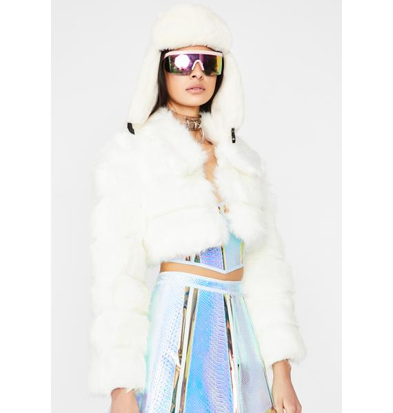 Pure Heavenly Aura Crop Jacket