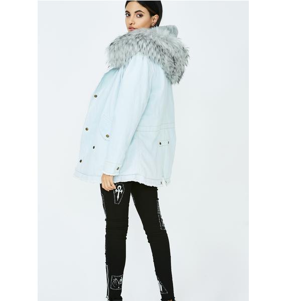 Urban Arctic Denim Jacket