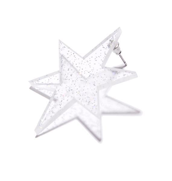 Stellar Power Star Earrings