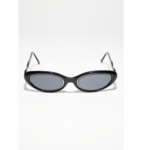 Too Cool 4 U Oval Sunglasses