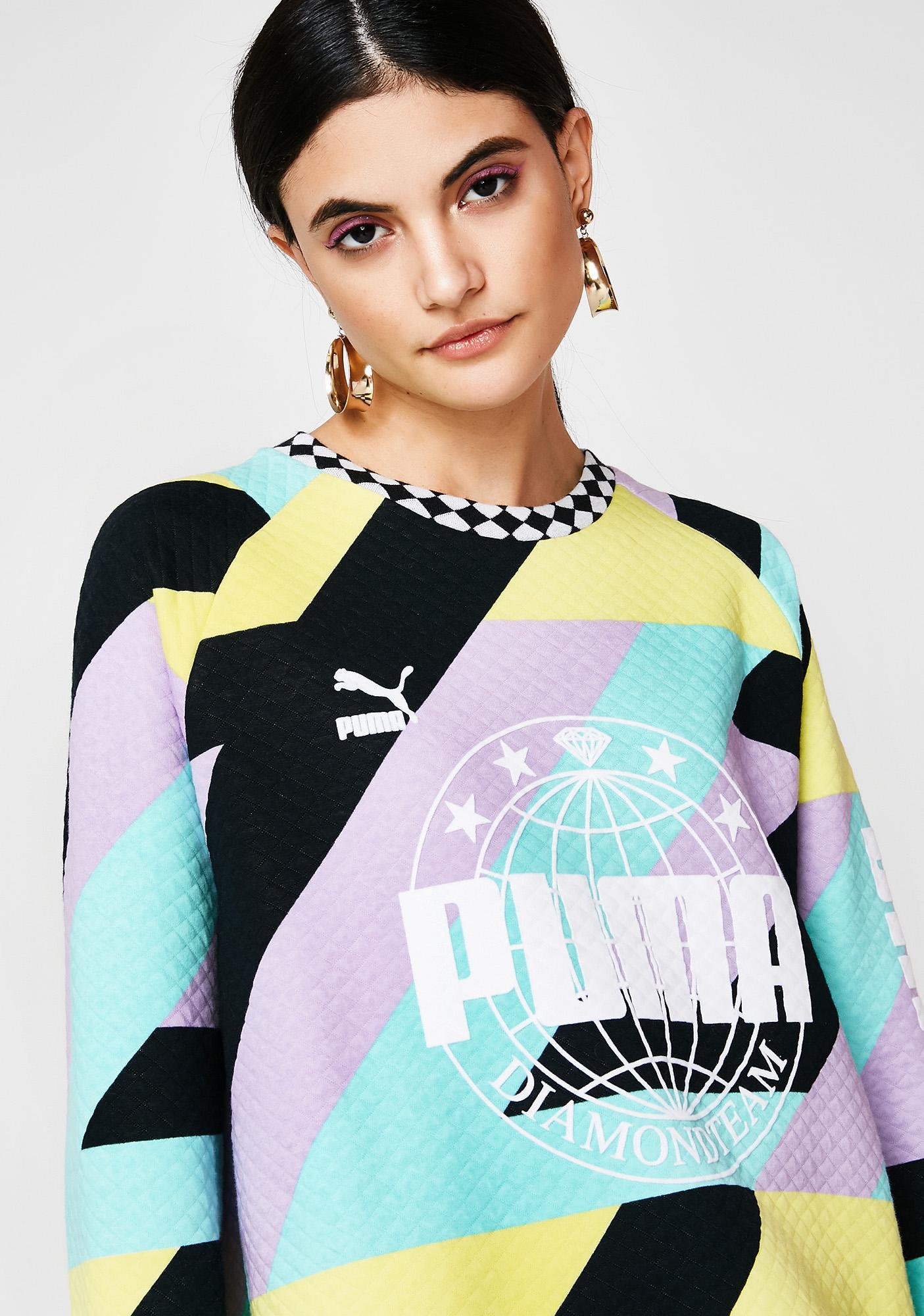 PUMA X Diamond Crew Sweatshirt