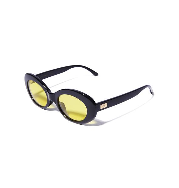 Crap Eyewear Gettin' Jiggy Love Tempo Sunglasses