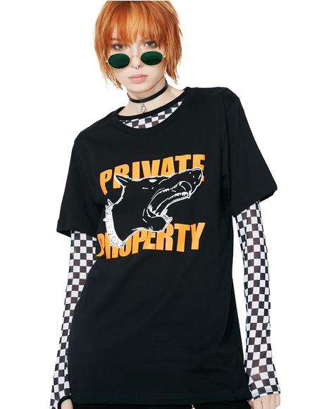 Private Property Tee