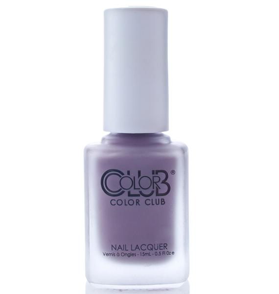 Color Club Plum-p and Juicy Matte Nail Polish