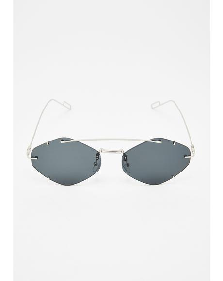 Effortless Flex Oval Sunglasses