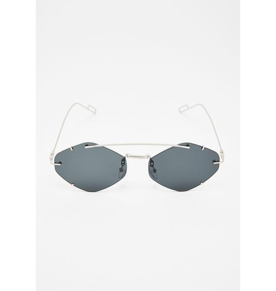 Effortless Flex Oval Sunglasses