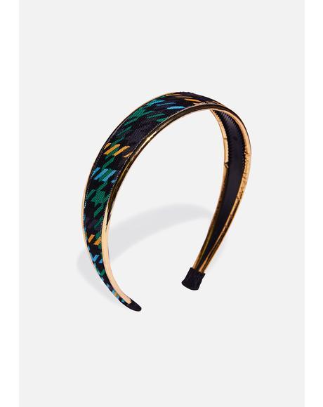 Black 90's Headband
