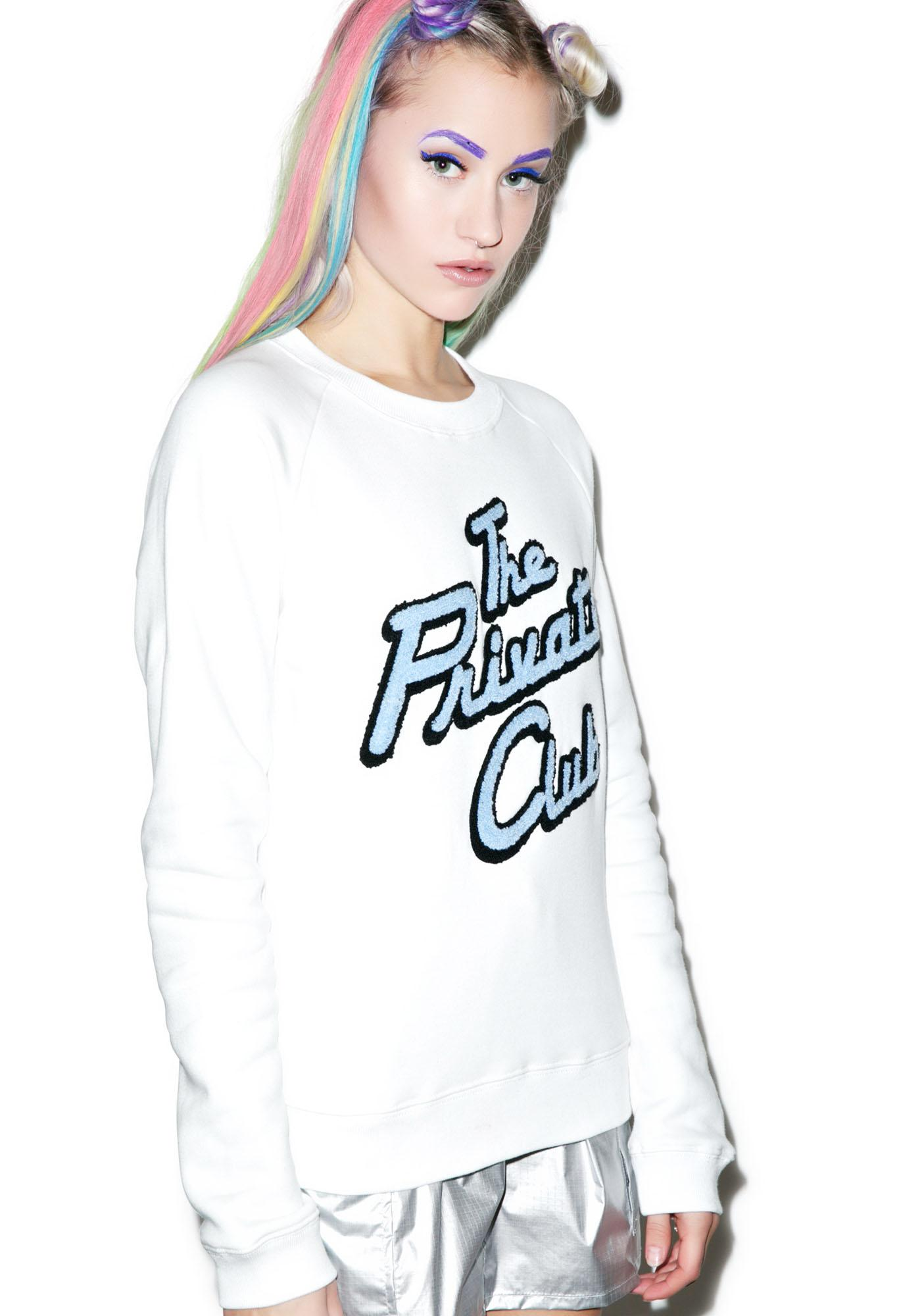 Joyrich Private Club Crewneck