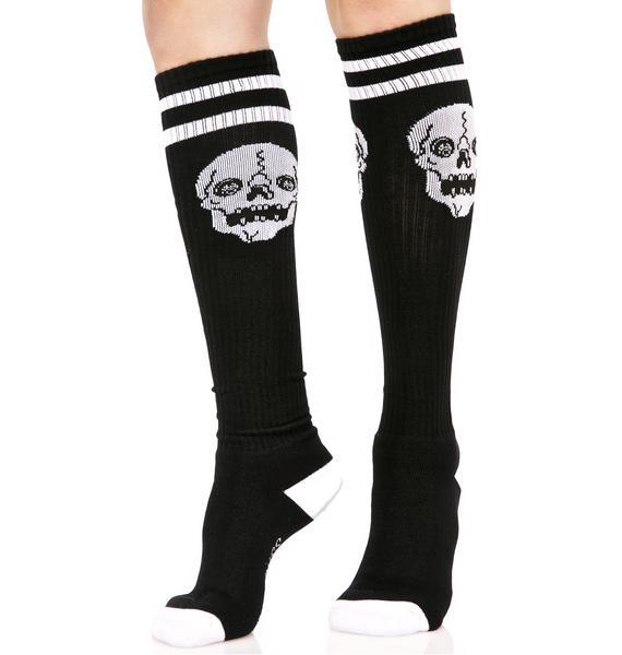 how to keep knee high socks up