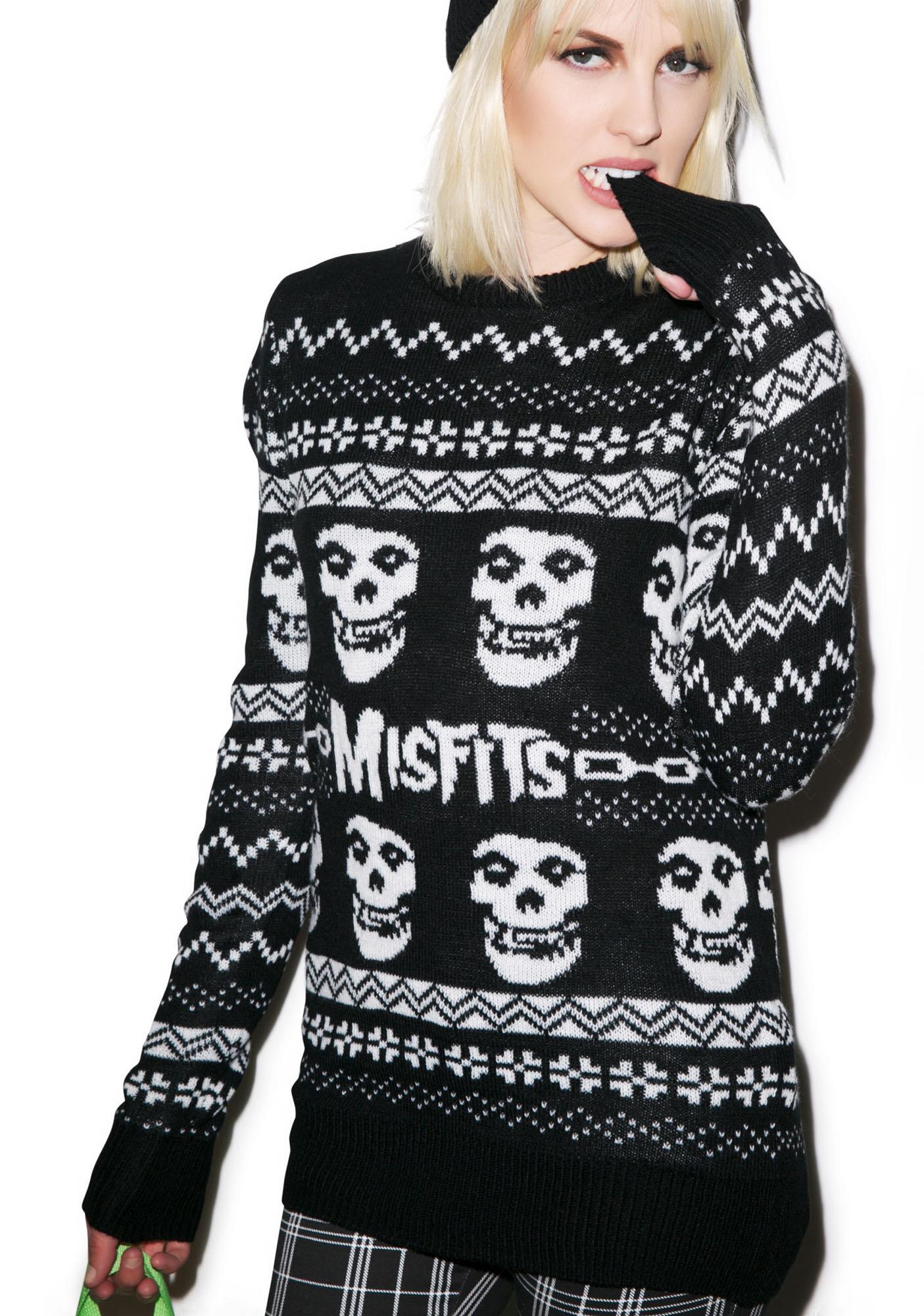 Iron Fist Merry Misfits Sweater | Dolls Kill