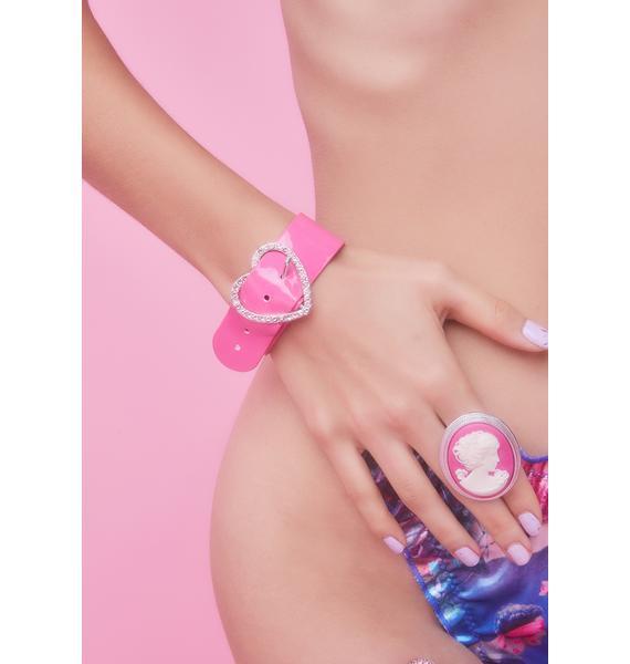 Forbidden Lover Heart Bracelet