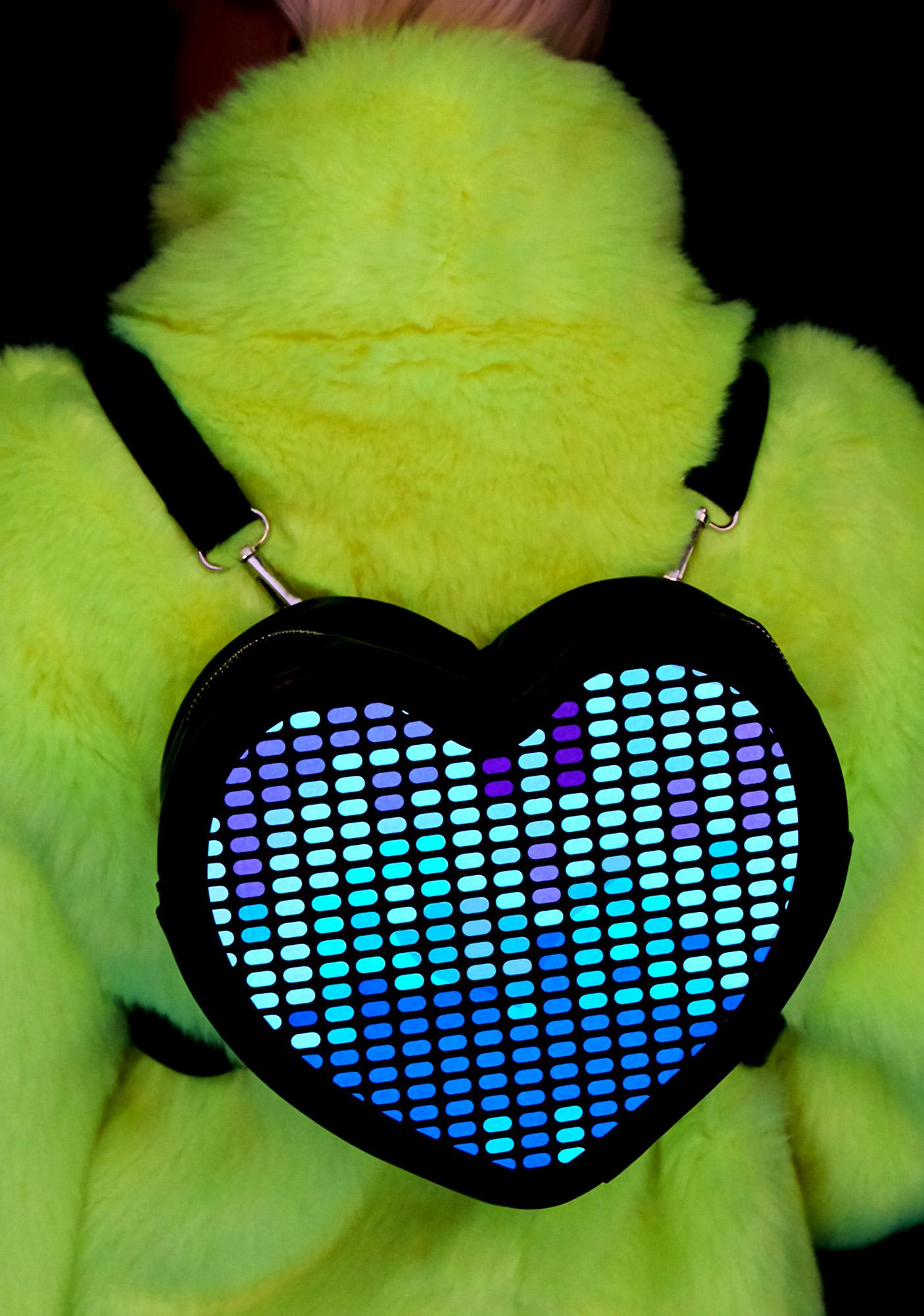 Club Exx Electronic Love Light Up Backpack