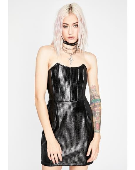 Livin' On A Prayer Mini Dress