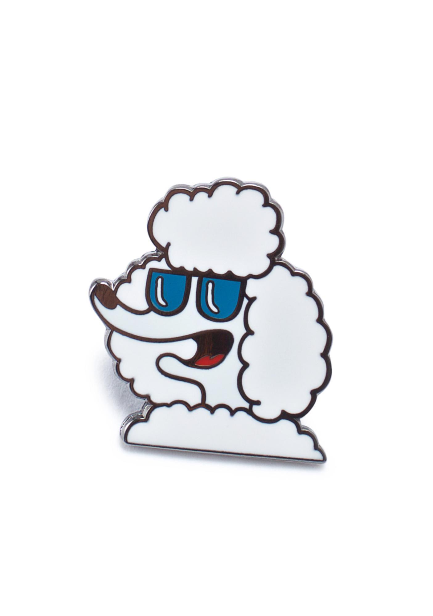 Valley Cruise Press Sickest Dog Alive Enamel Pin