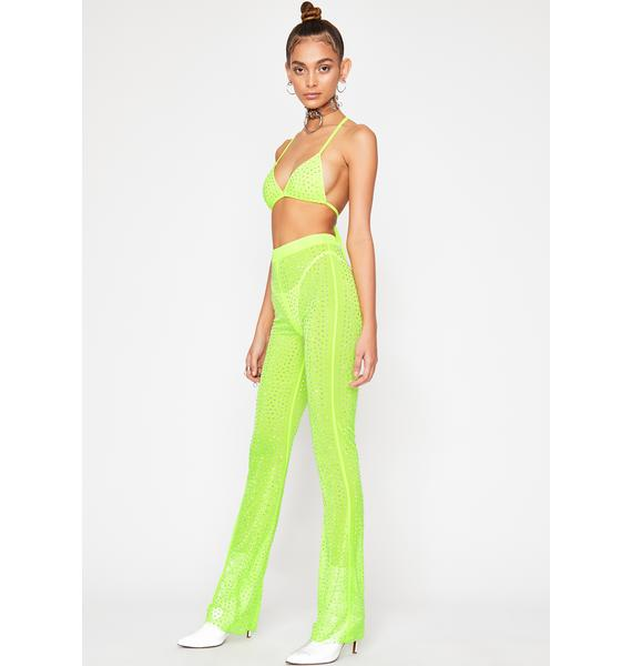 Slime Starfire Shawty Pant Set