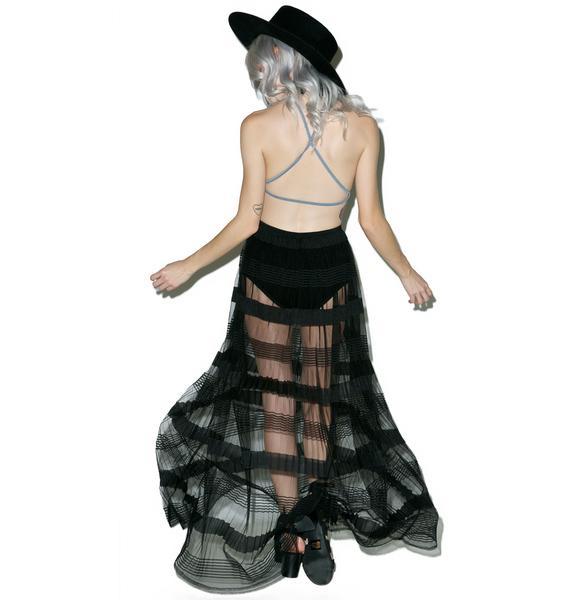 Sheerly Irresistible Maxi Skirt