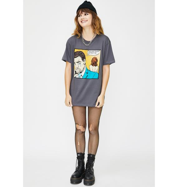 Goodie Two Sleeves She Had Tacos Graphic Tee