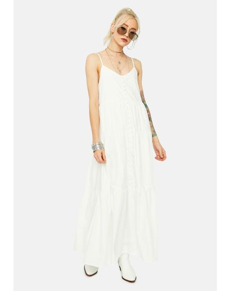 Boho Daze Tiered Maxi Dress