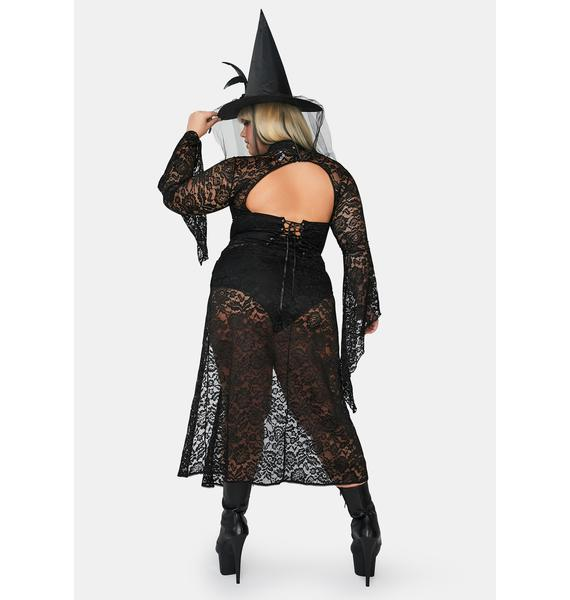 Dolls Kill She'll Cast A Spell Witch Costume