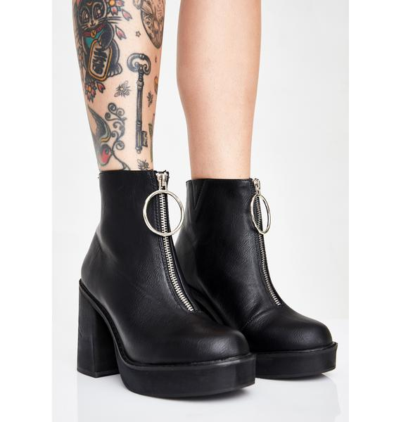 Current Mood NewNew Franky Platform Boots