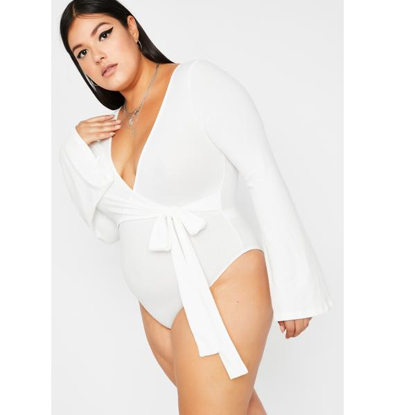 Boo Always Make It Good Wrap Bodysuit