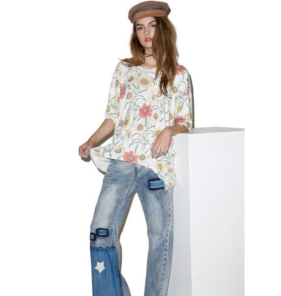 Wildfox Couture Wild Daisy Overland Tunic