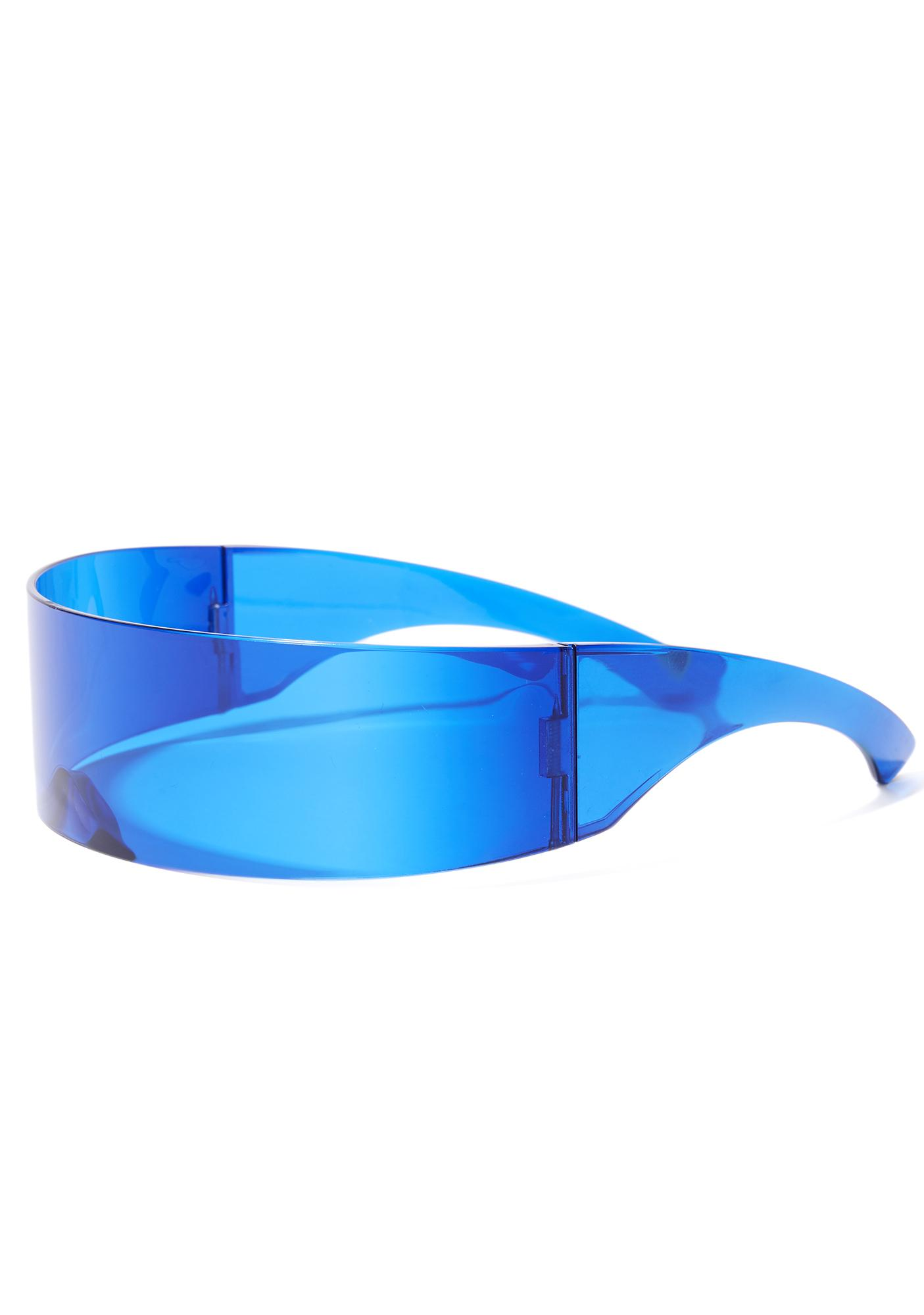 Moon Phase Shield Sunglasses