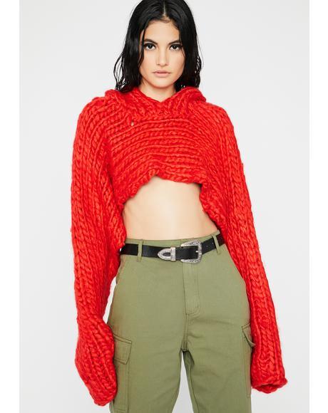 Flame Chic Freak Sweater Shrug
