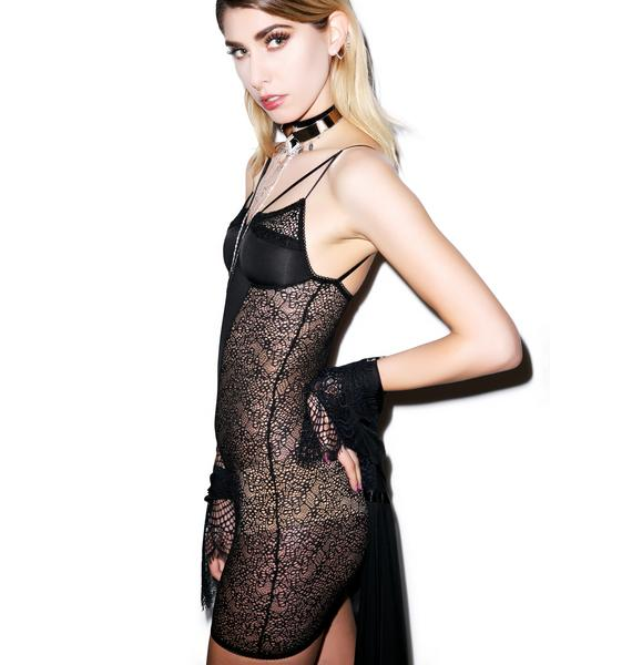 For Love & Lemons Long Line Bondage Slip