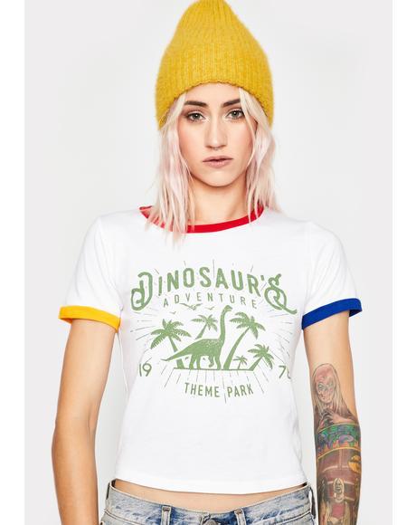 Dinosaur Adventure Ringer Tee