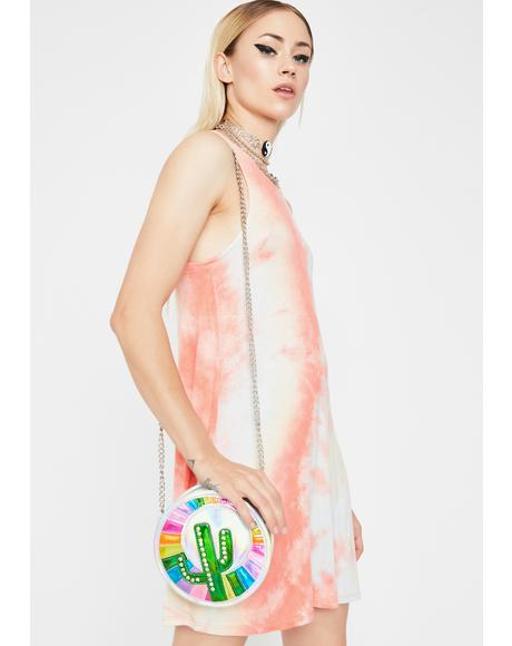 Mixed Feelings Tie Dye Dress